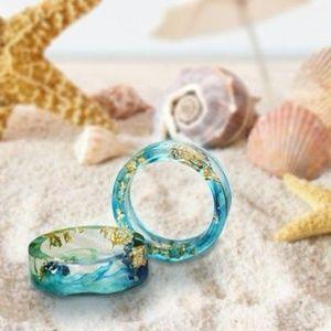 Handmade Ocean Life Ring